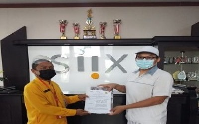 MOU dengan PT SIIX Electronics Indonesia